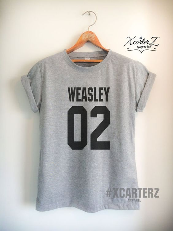 Weasley Shirt WEASLEY02 T-Shirt Print on Front or Back by XcarterZ