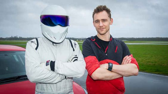 """Tom Hiddleston dropped into Top Gear on Sunday night to show off his driving skills for the latest """"Star in a Reasonably Priced Car""""."""