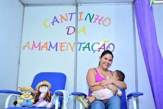 Boa Vista Junina conta com espaço destinado para amamentação e troca de bebês #pmbv #prefeituraboavista #boavista #roraima