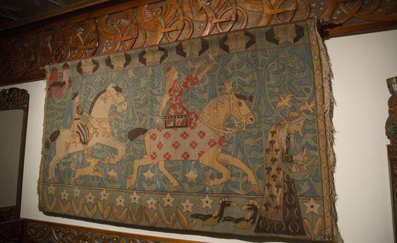Norse Saga Room - tapestry