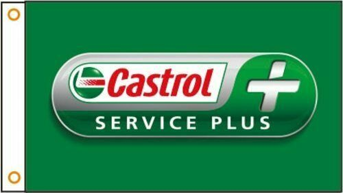 vn0835 Castrol Racing Sales Service Oils for Advertising Display Banner Sign