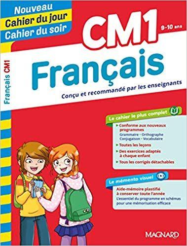 Cahier Du Jour Cahier Du Soir Francais Cm1 Pdf Gratuit