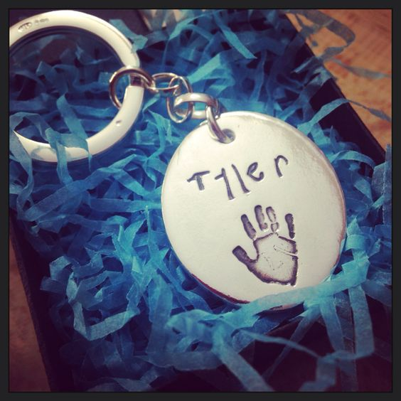 #HighFive and #LittleLetters key ring for dad #FathersDay