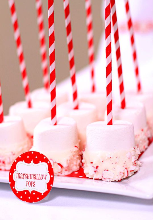 marshmallow pops @Katie Bowman for G's ONEderland party? :)