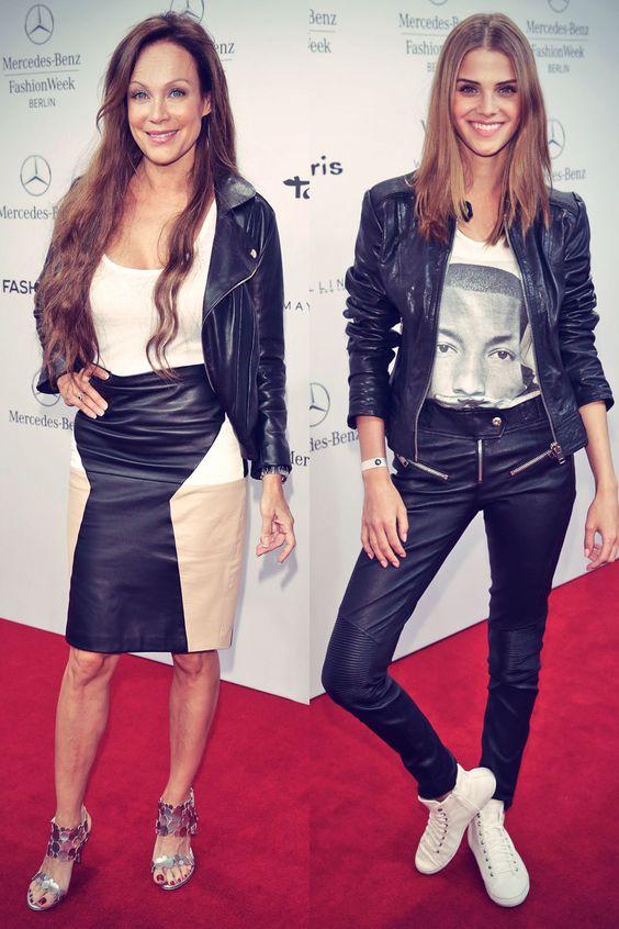 German celebs attend Mercedes-Benz Fashion Week Spring Summer 2015