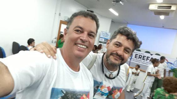 Geraldo e Marcelo, FAUmílias de Águas Lindas de Goiás e Guarulhos no VIII Erefau em Lauro de Freitas, BA, nos dias 16, 17 e 18/08/2018.