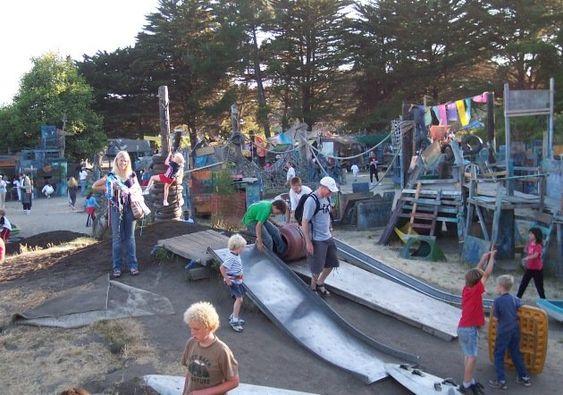 Adventure Playground, Berkeley CA