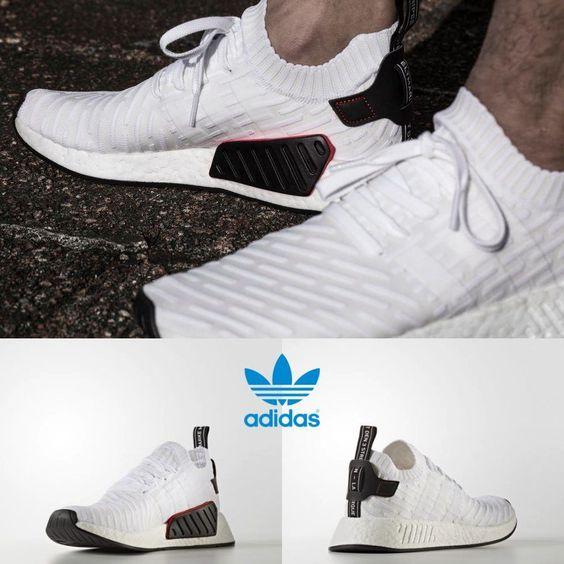 Adidas Men's NMD R2 PK Runner Black Black White BY3015 Size 4-11 Sneakers