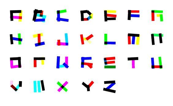 Electrica de Zipeng Zhu, una tipografía móvil al son de la música electrónica
