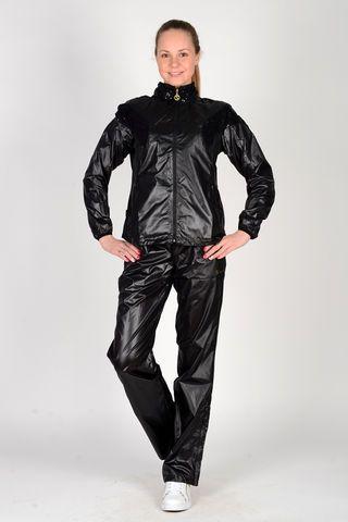 Shiny black nylon outfit | Nylon and Rainwear