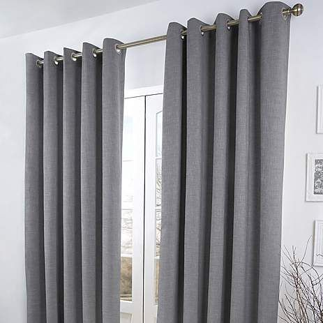 Curtains Ideas boys eyelet curtains : Grey Verbier Thermal Eyelet Curtains | Dunelm | Will's room ...