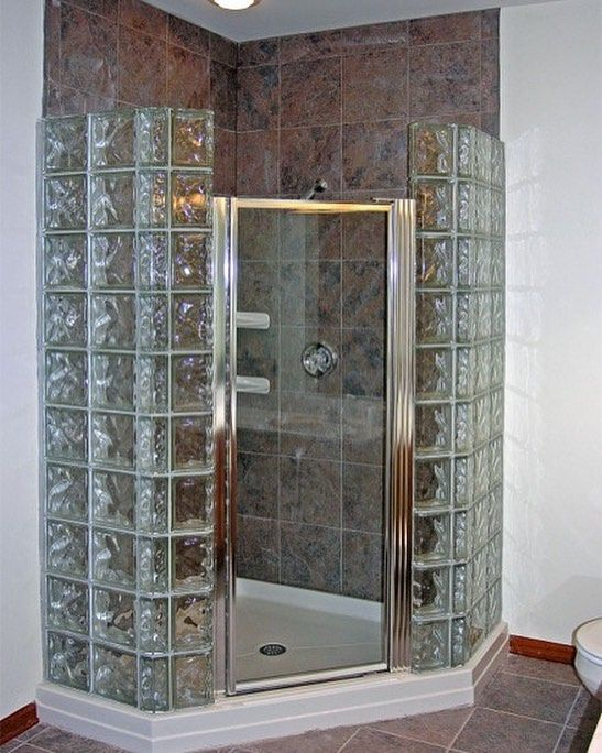 Retro Furniture Trends Throughout The Ages Glass Block Shower