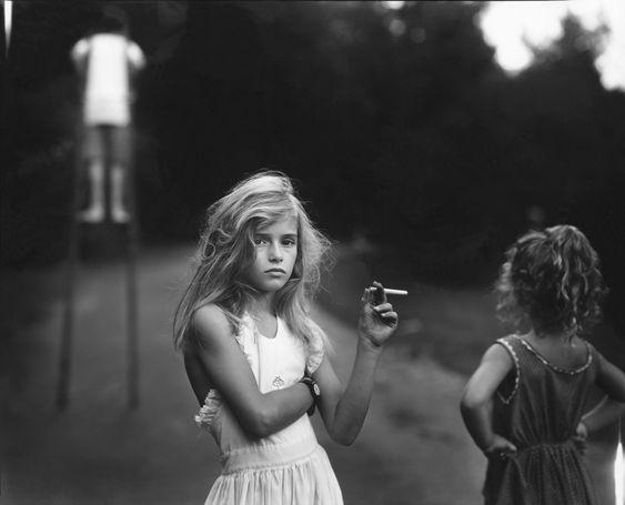 Sally Mann, Candy Cigarette.