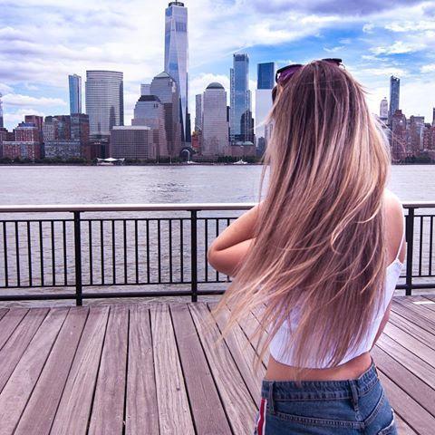 Jersey Shore Downtown Views Newyorkcity Jers Krldrs Blonde Balayage Balayage Hair Blonde
