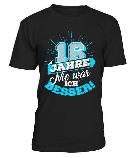 16 Jahre Geburtstag Geburtstagsgeschenk Shirts Geburtstagshirts