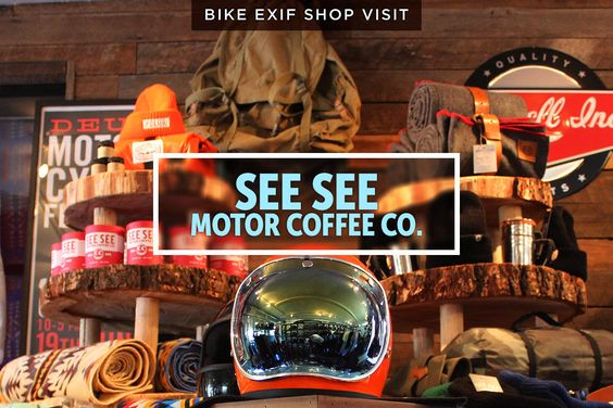 Take a look behind the scenes at Portland's finest custom motorcycle shop, See See. Owner Thor Drake serves pretty good coffee, too.