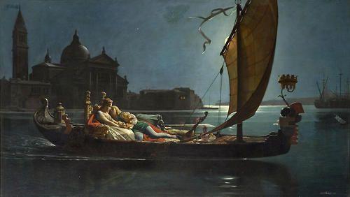 monsieurleprince:    Jean-Jules-Antoine Lecomte du Nouy (1842 - 1923) -La lune de miel à Venise, 1875