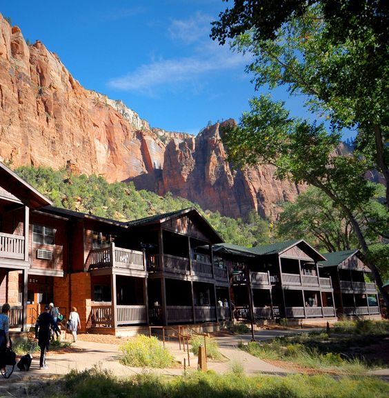 This is the only lodging option that puts you inside Zion National Park.