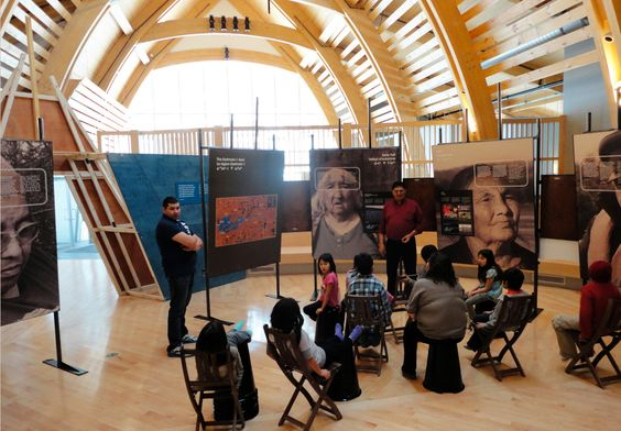 Rubin & Rotman Architects, Aanischaaukamikw Cree Cultural Institute, Oujé-Bougoumou, Canada. Photo © Aanischaaukamikw Cree Cultural Institute