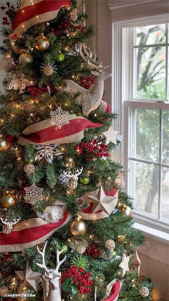 How To Decorate A Christmas Tree And Its Origin Cool Christmas Trees Christmas Tree Decorations Michaels Christmas Trees