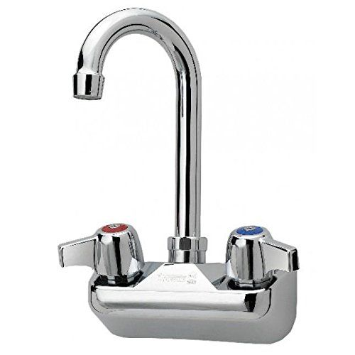 Krowne Silver Series 4 Center Wall Mount Faucet 3 1 2 Gooseneck Spout 10 400l Check Out This Great Product This Kitchen Faucet Wall Mount Faucet Faucet