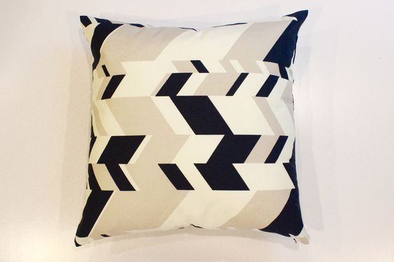 Geometric Plane Pillow Cover
