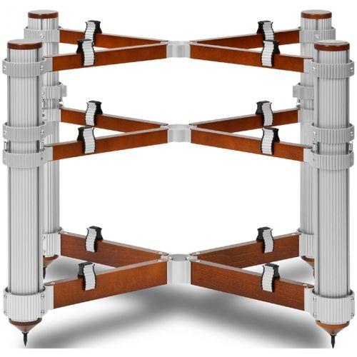 Solid Tech Soteref3 Evo 3 Shelf Reference Audio Rack Of Silence Multiple Finishes In 2020 Audio Rack Rack Audio Room