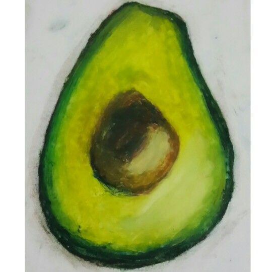 My almost edible Oil Pastel Advocado Green Yellow #art #oilpastel #sketch #draw #artist #pastel #charcoal #illustration #artwork #pencil #picture #drawing #sketchbook #plate #portrait #チョークアート #pastels #color #beautiful #paint #チョーク #chalkart #oil #パステル #handmade #follow #painting #advocado #advocados