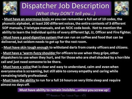 Dispatcher Job Description - Resumetrendscf