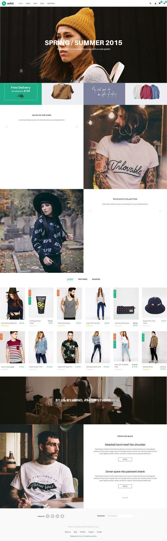 Joomla tshirt design - Joomla Templates