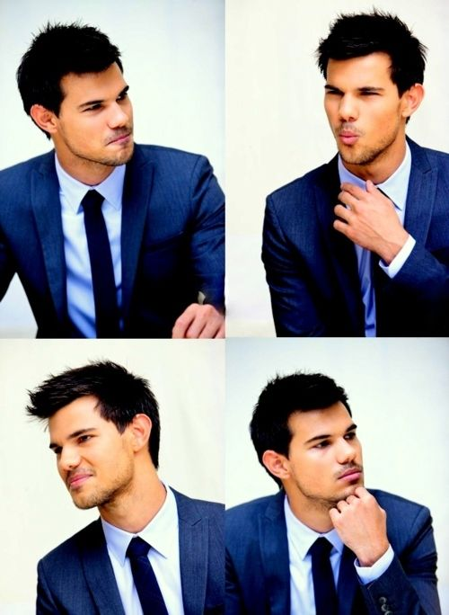 Taylor Lautner | Not ALWAYS a fan of this guy...but, he's looking dapper here. :)