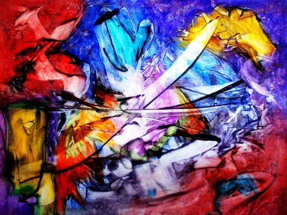 Art brut expressionnisme and abstrait on pinterest for Abstraction lyrique