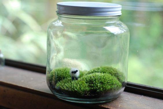 irische Landschaft mit ein kleines Schaf von weegreenspot auf Etsy
