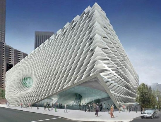 Rendering of DS+R's Broad Museum (DS+R)
