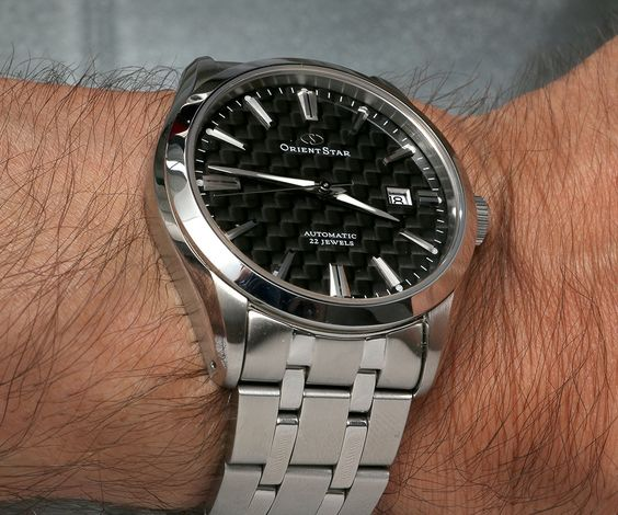 Orient Star Standard-Date With Carbon Fiber Dial Watch Review Wrist Time Reviews