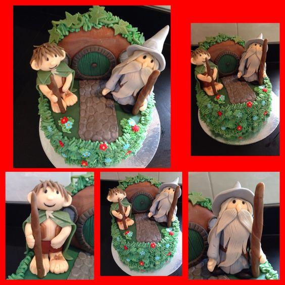 Hobbit taart