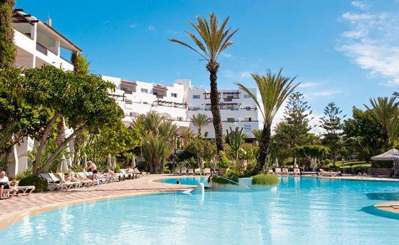 Voyage pas cher Maroc Go Voyages au Hotel Riu Tikida Beach prix promo séjour Go Voyage à partir 483,00 € TTC 8J/7N