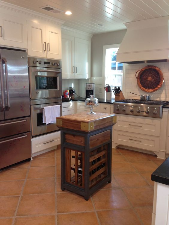 Found the perfect kitchen island for our new kitchen at for The perfect kitchen island