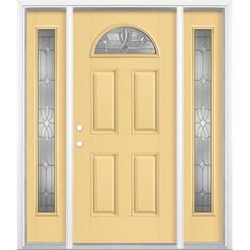 Masonite Laurel 64 In X 80 In Fiberglass 1 4 Lite Right Hand Inswing Cabana Yellow Painted Prehung Single Front Door Brickmould Included Lowes Com Entry Door With Sidelights Entry Doors Prehung Exterior Door Find masonite in canada | visit kijiji classifieds to buy, sell, or trade almost anything! pinterest