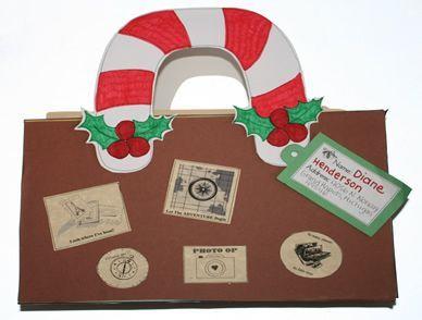 christmas around the world suitcase