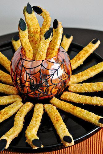 Halloween Rezepte Finger.55 Spooky Snacks That Will Level Up Your Party S Creep Factor Halloween Rezepte Halloween Fingerfood Fingerfood Rezepte