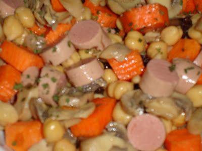 Salada de sobras
