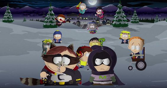 South Park The Fractured But Whole - cenario