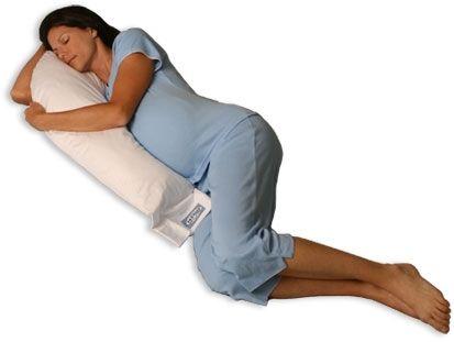 $126.00 Body Pillow - Snoozer Junior Body Pillow SZR3011 - Natural Goose  Down - White.