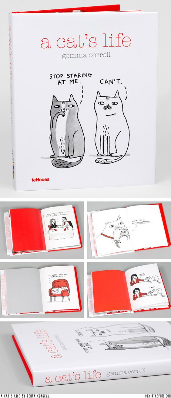 A Cat's Life - book by Gemma Correll   //   FOXINTHEPINE.COM