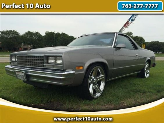 Used 1987 Chevrolet El Camino SS for Sale in Spring Lake Park MN 55432 Perfect…