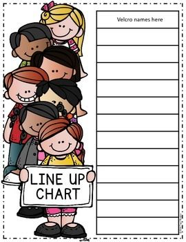 "Class Line Up Chart {Freebie}......Follow for Free ""too-neat-not-to-keep"" Teaching Tools & other Fun Stuff :)"
