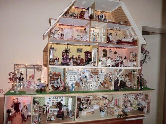 Hobbyraum 'Mein Puppenhaus im viktorianischen Stil' - My Home is my Castle - Zimmerschau