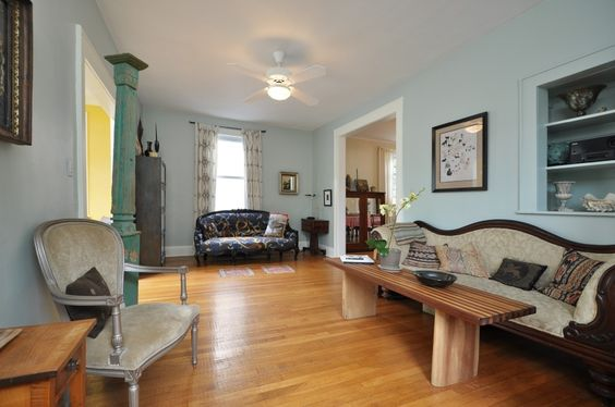 Adorable and Affordable! This home has close to 9 foot ceilings.