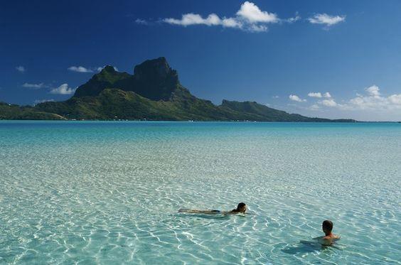 Bora Bora Tahiti - the most beautiful place on earth